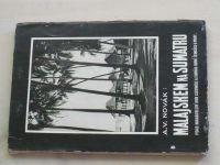 Novák - Malajskem na Sumatru - Črty z cest (1931)
