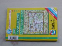 Cykloturistická mapa 1 : 100 000 edice KČT 25 - Haná a Hostýnské vrchy (2001)