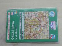 Turistická mapa 1 : 50 000 KČT 85 - Okolí Brna, Svratecko (1998)