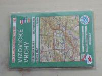Turistická mapa 1 : 50 000 KČT 93 - Vizovické vrchy (1996 - 99)