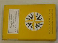 Světová četba sv.185 - Edmond a Jules de Goncourt - Germinie Lacerteuxová (1958)