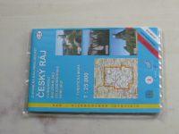 Turistická mapa 1 : 25 000 CHKO Český ráj, Turnovsko, Maloskalsko, Železnobrodsko, Semilsko (2008)