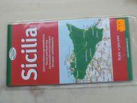 Automapa + turistická mapa - Mappe Iter - Sicilia 1 : 300 000 (2002)