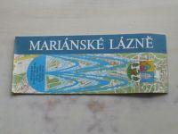 Mariánské lázně - plán města 1 : 10 000 (1981)