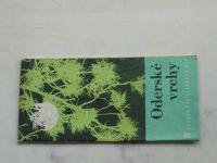 Soubor turistických map 1 : 100 000 Kartografické nakladatelství 17 - Oderské vrchy (1967)