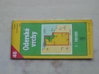 Soubor turistických map 1 : 100 000 Kartografie 46 - Oderské vrchy (1994)