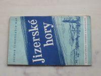 Soubor turistických map 1 : 75 000 Ústřední správa geodézie a kartografie - Jizerské hory (1958)