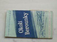 Soubor turistických map 1 : 75 000 Ústřední správa geodézie a kartografie - Okolí Berounky (1958)