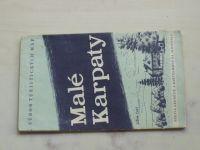 Súbor turistických máp - Malé Karpaty 1 : 75 000 (1959)