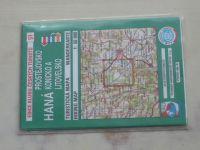Turistická mapa 1 : 50 000 KČT 51 - Haná, Prostějovsko, Konicko a Litovelsko (1996 - 1999)