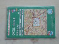 Turistická mapa 1 : 50 000 KČT 83 - Okolí Brna, Ivančicko (2002)