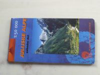 Turistická mapa - Geodetski zavod Slovenije - Julijske Alpe, Zahodni del 1 : 50 000 (2001)