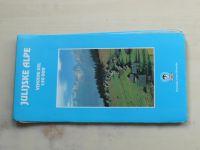 Turistická mapa - Geodetski zavod Slovenije - Julijske Alpe, Vzhodni del 1 : 50 000 (1996)