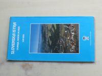 Turistická mapa - Geodetski zavod Slovenije - Slovenska Istra, Čičarija, Brkini in kras 1 : 50 000