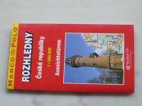 Turistická mapa + rejstřík - 1 : 500 000 Marco Polo - Rozhledny České republiky (2005)