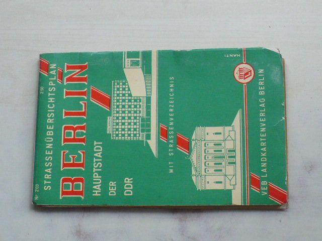 Berlin - Hauptstadt der DDR 1 : 30 000 (1966) Strassenubersichtsplan + Strassenverzeichnis