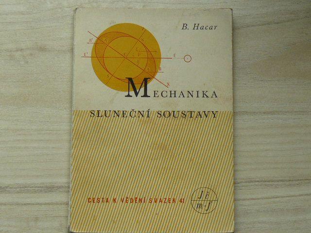 Hacar - Mechanika Sluneční soustavy (1948) Cesta k vědění sv.41
