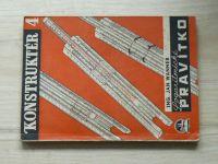 Ing. Wanner - Logaritmické pravítko (1944) Konstruktér 4