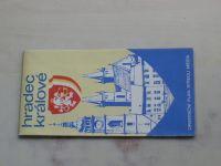 Orientační plán středu města - Hradec Králové 1 : 10 000 (1973)