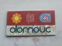 Plán města - Olomouc 1 : 10 000 (1981)