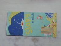 Slapská rekreační oblast - Slapy a okolí 1 : 75 000 (1980)