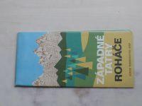 Súbor turistických máp - 1 : 50 000 - Západné Tatry, Roháče (1974)
