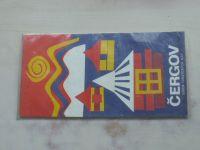 Súbor turistických máp - Čergov 1 : 100 000 (1975)