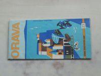 Súbor turistických máp - Kartografické nakladateľstvo č.23 - Orava 1 : 100 000 (1969)