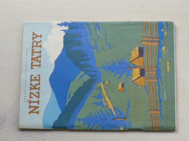 Súbor turistických máp - Nízke Tatry 1 : 75 000 (1960)
