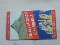 Súbor turistických máp - Rimavská Sobota, Číž - Domica 1 : 75 000 (1960)