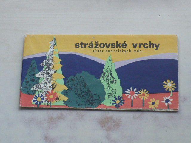 Súbor turistických máp - Strážovské vrchy 1 : 100 000 (1974)