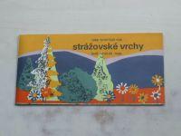 Súbor turistických máp - Strážovské vrchy - Letná turistická mapa 1 : 100 000 (1981)
