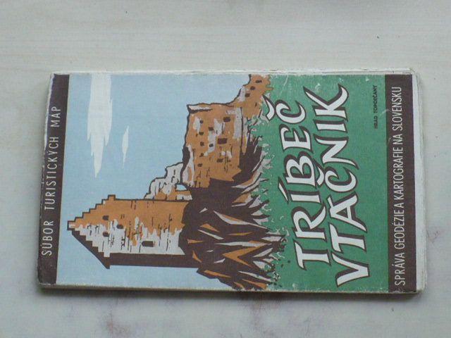 Súbor turistických máp - Tríbeč - Vtáčnik 1 : 75 000 (1959)
