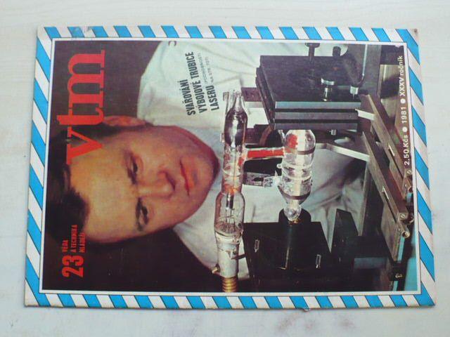 Věda a technika mládeži 23 (1981) ročník XXXV.