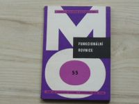 Davidov - Funkcionální rovnice (1984) Škola mladých matematiků 55
