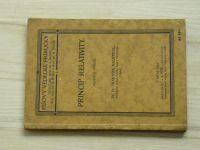 Dr. František Nachtigal - Princip relativity. Názorný výklad. (1921)