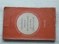 Fr. Záviška - Einsteinův princip relativnosti a teorie gravitační (1925)