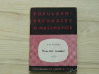 Gel'fond- Neurčité rovnice (1954) Populární přednášky o matematice