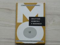 Havlíček - Analytická geometrie a nerovnosti (1967) Škola mladých matematiků 17
