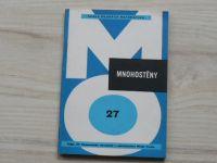 Horák - Mnohostěny (1970) Škola mladých matematiků 27
