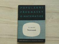 Korovkin - Nerovnosti (1957) Populární přednášky o matematice