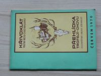 Křivoklát - Přehlídka trofejí a chovu - Plemenářská oblast Křivoklát, červen 1970