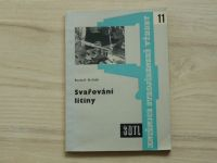 Krňák - Svařování litiny (1960) Knižnice strojírenské výroby 11