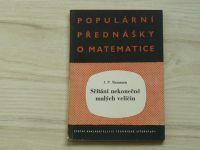 Natanson - Sčítání nekonečně malých veličin (1957) Populární přednášky o matematice