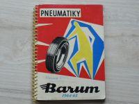Pneumatiky Barum 1964-65 - Katalog