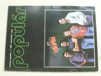 Populár 1-12 (1986) ročník XVIII. (chybí čísla 4-5, 11-12, 8 čísel) slovensky