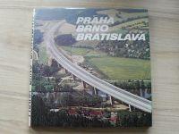 Praha - Brno - Bratislava - Dálniční tah, Alfa Bratislava 1980
