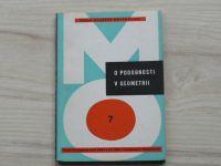 Šedivý - O podobnosti v geometrii (1967) Škola mladých matematiků 7