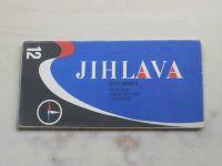 Automapa 12 - 1 : 200 000 - Jihlava (1971)