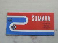 Automapa 16 - 1 : 200 000 - Šumava (1971)